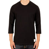 Signature Cotton Raglan | Jet Black