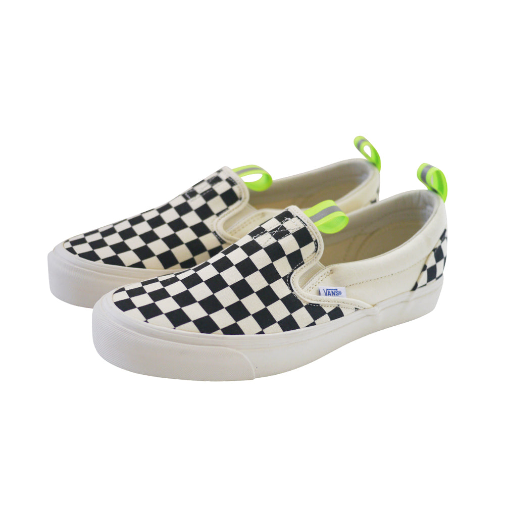 OG Classic Slip-On Custom by (multee)project | Checkerboard / Volt - Men's