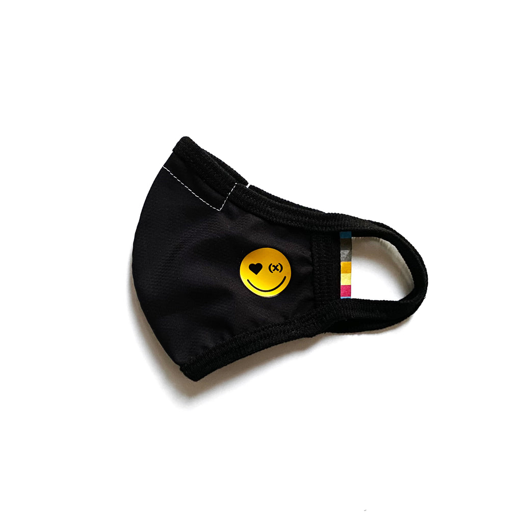 Tech Viroblock Mask - Kids | Jet Black