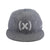 (multee)project x Ebbets Field Flannels® (x) Snapback / Heather Grey