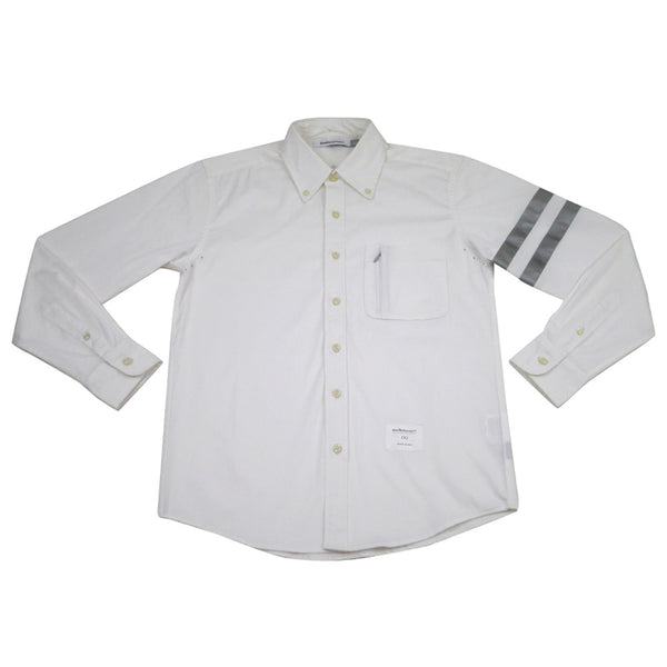 New Standard 3M™ Reflective Stripes Shirt | True White