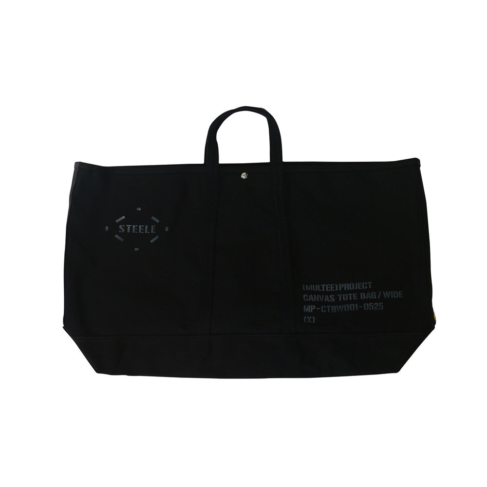 (multee)project x Steele Canvas Basket Oversized Canvas Tote | Black