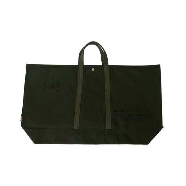 (multee)project x Steele Canvas Basket Oversized Canvas Tote | Olive