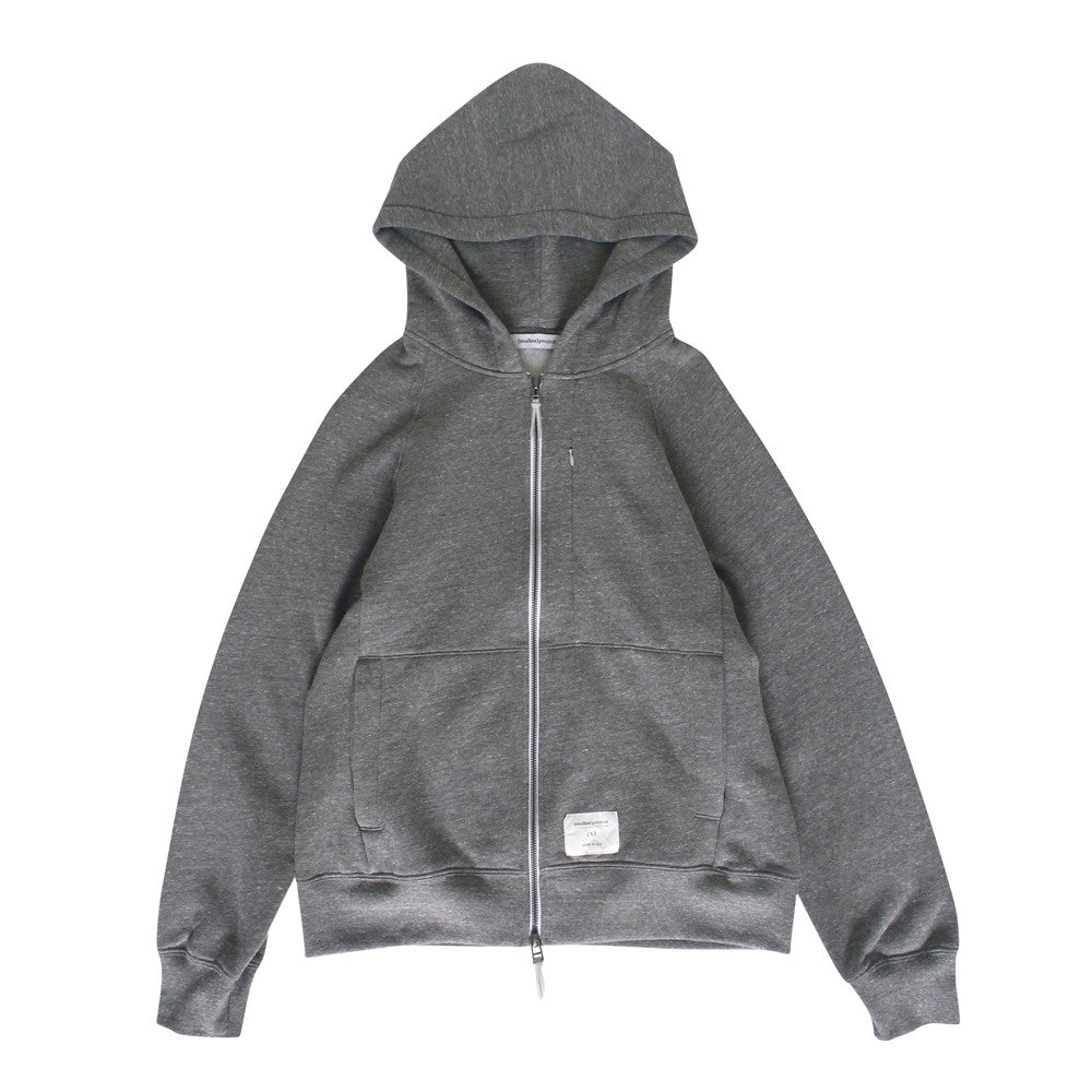 Signature Tri-blend Zip up | Heather Grey