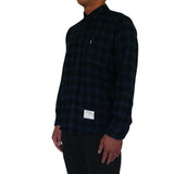 Overdyed B.D. Flannel Shirt | Mood Indigo
