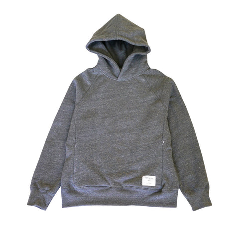 Signature Tri-blend Pullover | Heather Grey