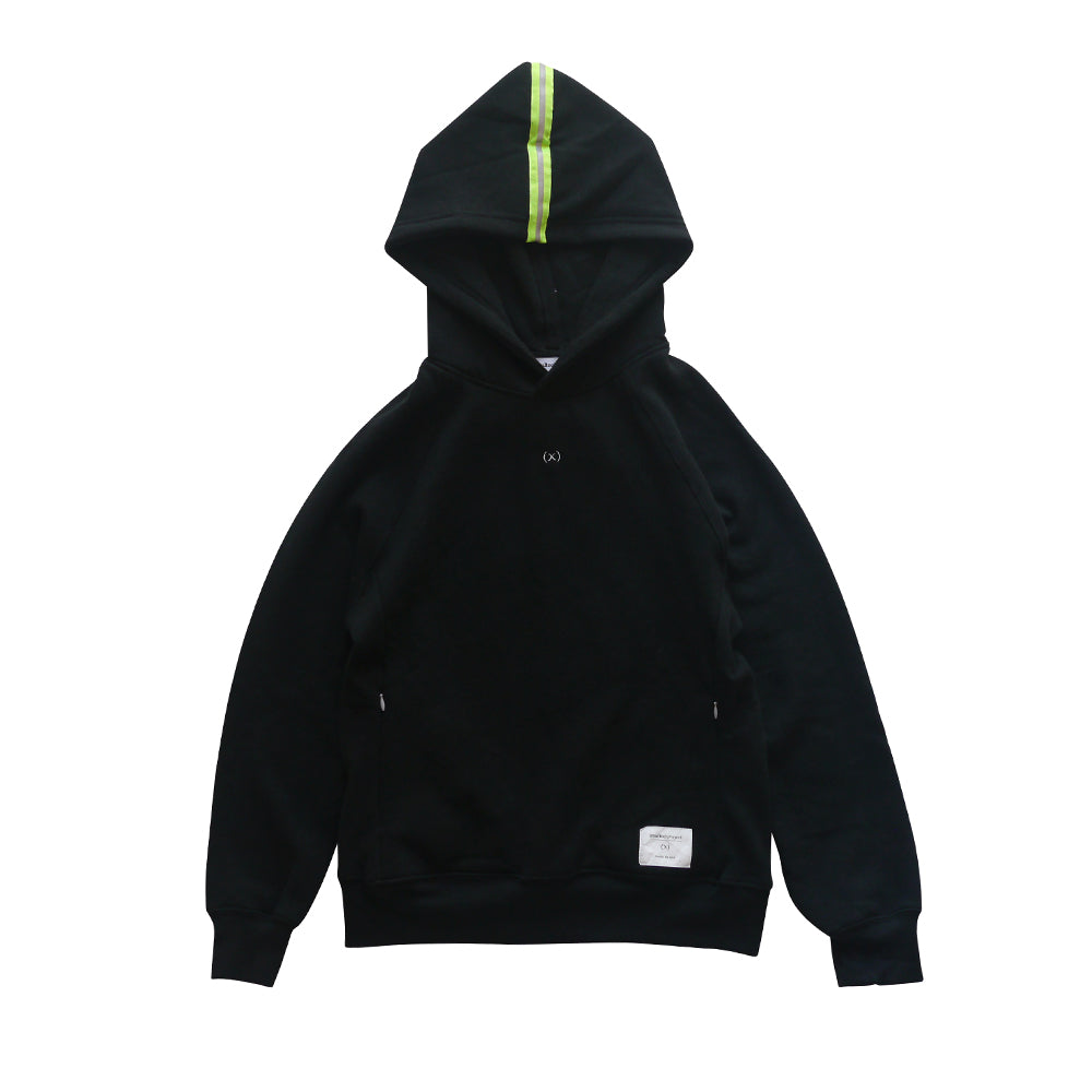 Signature Tri-blend Pullover | Pirate Black / Volt