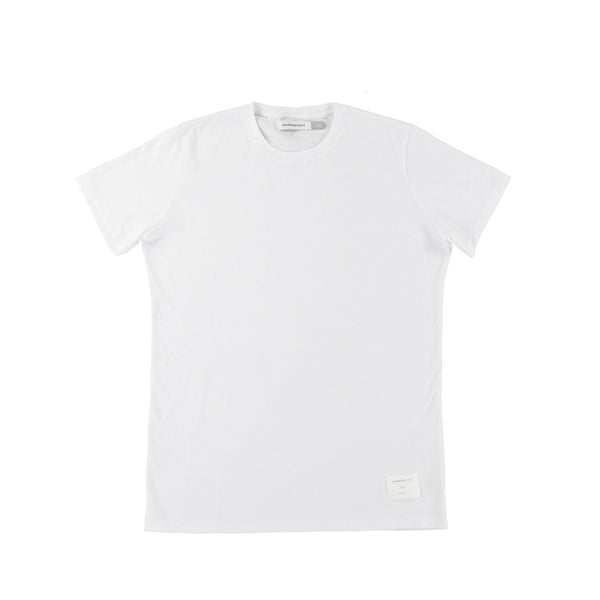 Signature Cotton Tee | Pure White