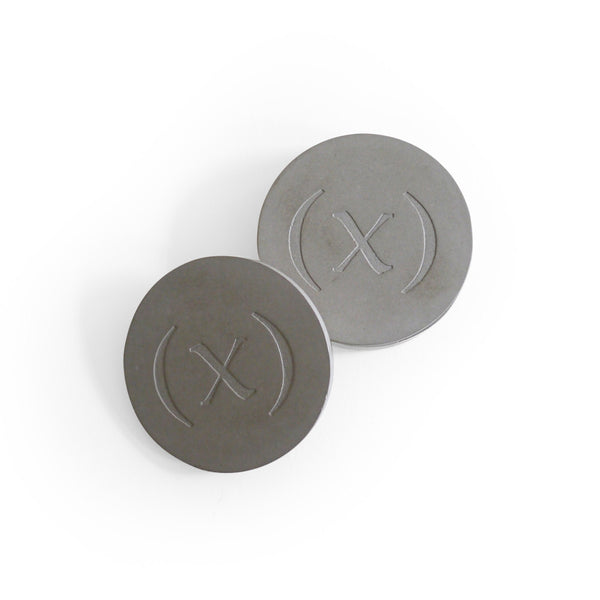 Wabi-sabi Concrete Coaster Set / Concrete Grey