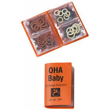 OHA-Baby-Dichtungs-Sortiment orange
