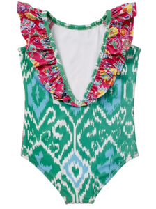 Masala Baby Ananya Floral Flutter Swimsuit