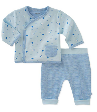 Absorba Baby Fish Cardigan Pant Set Boys