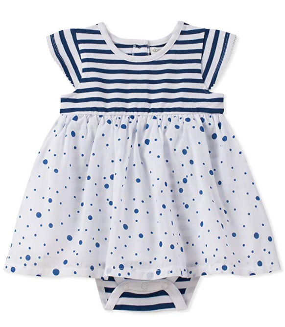 Absorba Navy Girls Sunsuit