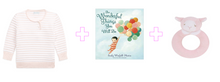 Load image into Gallery viewer, Wonderful Pink Stripes Baby Girl Gift Set