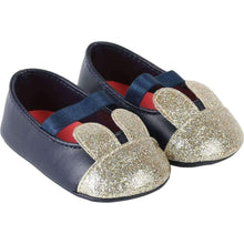 Load image into Gallery viewer, Billieblush Baby Girls Blue Bunny Shoes