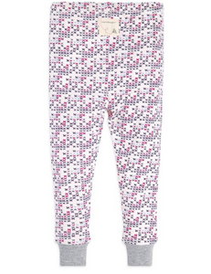 Citizen Kidette Burt's Bees Micro Cross Stitch Long Sleeve Pajama Set