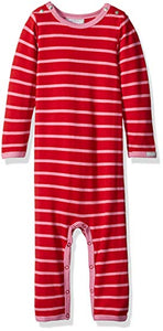 Coccoli Striped Knit Cotton/Modal Romper