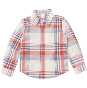 Egg  Plaid Luke Button Down Shirt