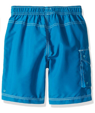 Load image into Gallery viewer, Hatley Blue Shark Board Shorts