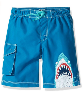 Hatley Blue Shark Board Shorts
