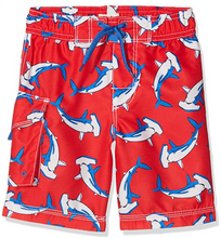 Load image into Gallery viewer, Hatley Hammerhead Sharks Board Shorts