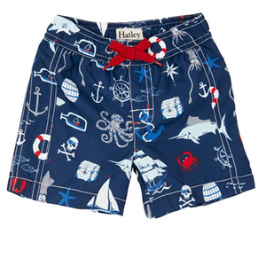 Hatley Nautical Swim Trunks
