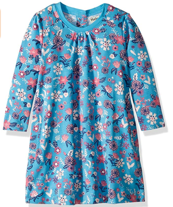 Hatley Baby Girls Longsleeve Swing Dress