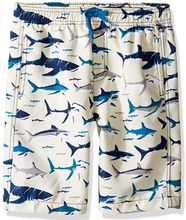 Load image into Gallery viewer, Citizen Kidette Hatley Toothy Shark Swim Trunks