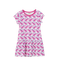 Load image into Gallery viewer, Hatley Girls' Rollergators Tee Dress