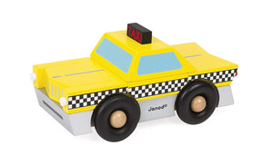 Janod Taxi Magnet Puzzle Kit