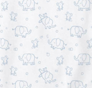Load image into Gallery viewer, Magnetic Me Cotton Blue Elephant Footie (Citizen Kidette)