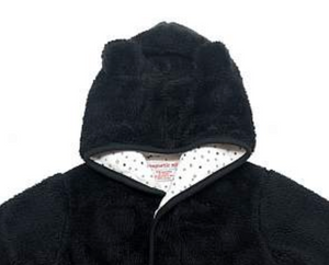 Magnetic Me So Soft Minky Fleece Magnetic Hooded Jacket 6M - 12M