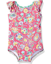 Load image into Gallery viewer, Masala Baby Ananya Floral Flutter One Piece