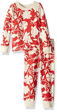 Masala Baby Organic Cotton Jolie Red Two-Piece Pajama Set