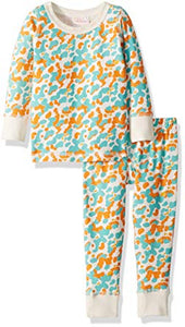 Masala Baby Organic Cotton Long-Sleeve Pajama Set
