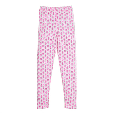 Masala Baby Organic Cotton Jasmine Pink Leggings