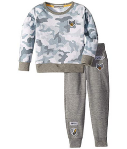 PJ SALVAGE Camo Cool Two-Piece Pajamas (Set) 5t