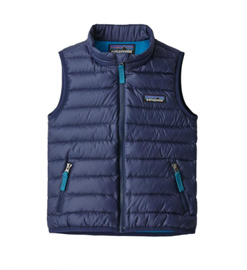 Patagonia Baby Down Sweater Vest (Classic Navy)