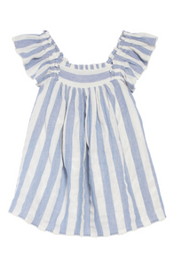 Peek Chrissy French Blue Stripe Dress (2t)