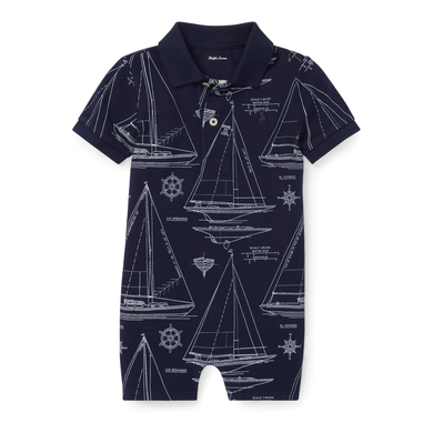 Ralph Lauren Cotton Sailing Blueprint Shortall