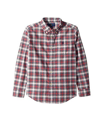 Ralph Lauren Polo Plaid Cotton Oxford Shirt