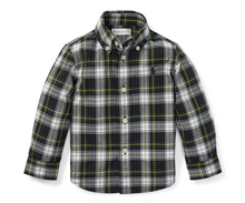 Load image into Gallery viewer, Ralph Lauren Hunter Green Plaid Cotton Poplin Shirt