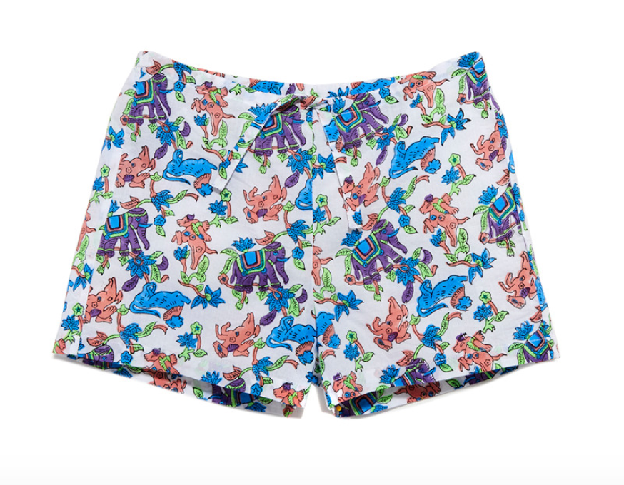 Roller Rabbit Elephant Shorts