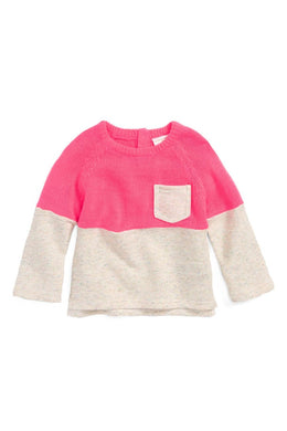 Rosie Pope Light Weight Mixed-Media Sweater