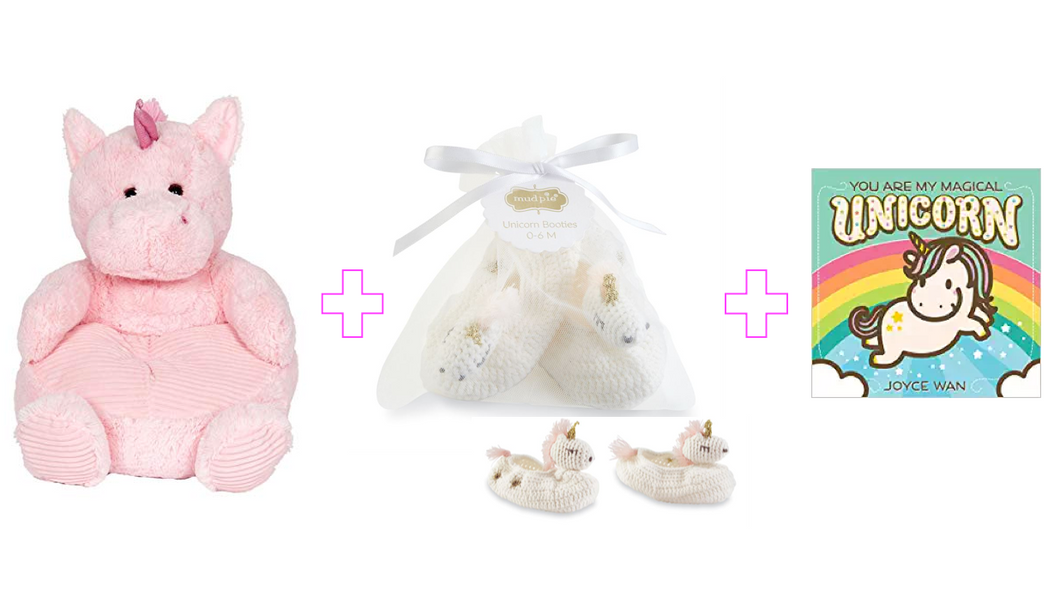 Unicorns Baby Girl Gift Set