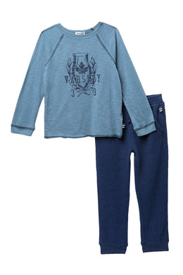 Splendid Raglan Long Sleeve & Sweat Pant Set