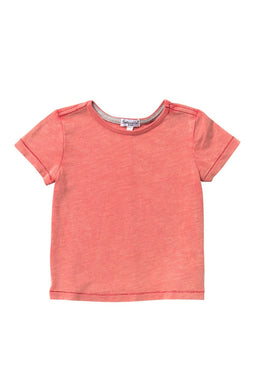Splendid Washed Slub Jersey T-Shirt