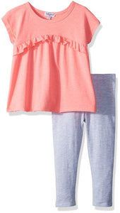 Splendid Two-Piece Flounce Top and Pant Set