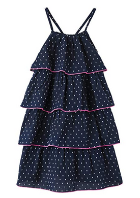 Hatley Swiss Dot Solstice Layered Dress