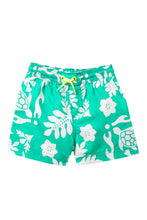 Load image into Gallery viewer, Tea Collection Turtle and Leafy Swim Trunks